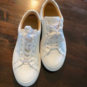 GREATS The Royale White Sneaker 37.5/7